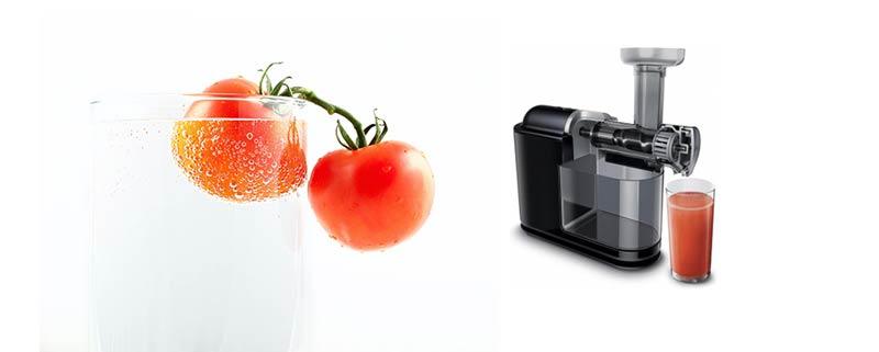 slowjuicer tomaat