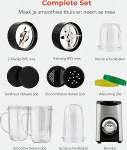 KitchenBrothers Blender set